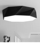 批发铁艺吸顶灯圆形 现代简约几何折纸创意 卧室书房客厅led灯具