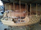 郑和宝船模型木船厂家出售纯手工小木船