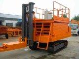 重庆万州履带式升降平台、升降机供应商、专业生产厂家济南天越