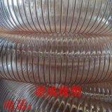 pu耐磨鋼絲伸縮管通風除塵風機專用軟管東北抽炕灰鍍銅鋼絲管200mm廠家批發價格