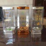 新款透明酒盒PET材质优质亚克力酒盒包装可定制