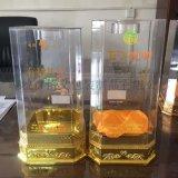 新款加高八家透明酒盒优质亚克力酒盒包装可定制