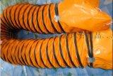 350mm  钢丝风管,夹网布风管,PVC风管,尼龙风管,风机风管