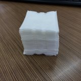 廠家供應全棉方形壓邊壓點化妝棉