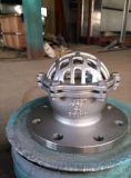 高兆帕阀门  不锈钢底阀  铸钢法兰底阀