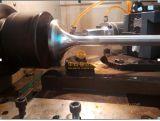 华云船用气门镜面加工-不锈钢镜面抛光设备
