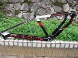全碳纤维山地车架/自行车架26寸碳纤车架