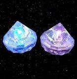 厂家直销入水亮发光冰块灯 感应LED冰块 七彩闪光冰块 钻石冰块