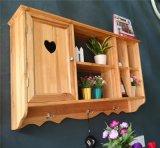 佛山工厂直销阳台柜 定制实木装饰收纳柜 日式单门多格壁柜吊柜