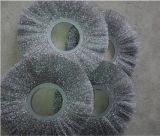 厂家供应抛光毛刷轮,机械镀铜丝毛刷轮,金属抛光除锈除污钢丝轮
