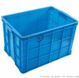 塑料周转箱755蓝色箱