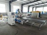全自动数控木工加工中心雕刻机 定制板式家具1325 开料机