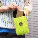 2016新款韩版手机编织女包零钱包时尚单肩斜跨迷你小包