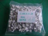 碳钢圆5MM钢钉线卡,PE料方8MM钢钉线夹