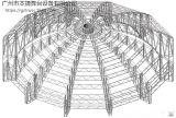 本捷厂家供应铝合金truss架 音响架 异形桁架定做 舞台桁架系列