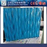 志涛玻璃厂家专业生产超厚背景墙隔音热熔玻璃纹路款式多样