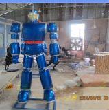 卡通机器人 玻璃钢变形金刚定制 成都树脂动漫人物雕塑