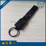 奧迪織帶鑰匙扣 創意汽車車標鑰匙扣掛件