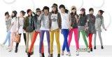 彩色打底裤