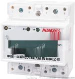 DDS228型导轨式电能表,4P,485, 液晶,华邦股份