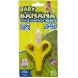 硅胶婴儿牙胶 香蕉形状磨牙器 安抚固齿无毒婴儿用品
