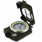 美式多功能專業指南針 戶外用品登山裝備車載指北針旅行羅盤夜光