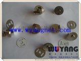 【厂家直销】供应出口,贸易,服装磁钮,超薄,压花环保磁钮