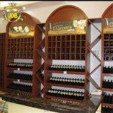 煙酒禮品櫃精品鈦合金貨架高檔葡萄酒展架酒類展櫃設計