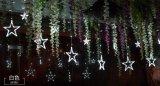 LED星星灯 户外防水窗帘冰条灯 美欧规装饰满天星星灯串,婚礼装饰,厂家直销