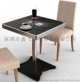 鑫飞智显智能点菜餐桌液晶屏触摸自助餐桌防水厂家定制