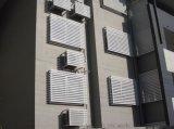 建筑外墙装饰百叶窗幕墙,铝制空调百叶窗生产厂家