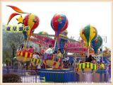 童星供应客流量大必备新型游乐设备   旋转桑巴气球  造型上生动