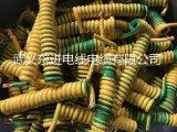 单芯黄绿螺旋线接地线