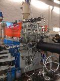 HDPE缠绕管生产线 塑钢双平壁排水管设备