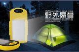 厂家直销小三防露营灯防水防尘震5000环保ABS材质太阳能移动电源可订制LOGO 通用版