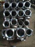 廠家直供合金鋼、不鏽鋼材質SH3401鍛制高壓三通、螺紋三通、承插焊三通
