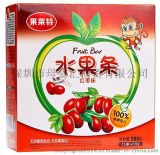红枣味水果条婴儿食品婴儿水果条