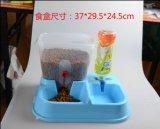 寵物兩用自動食盒自動喂水喂食貓狗通用