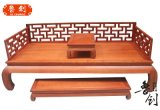 罗汉床东阳鲁创厂家直销明清家具,东阳木雕,古典红木家具定做