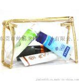 厂家批发PVC透明化妆包旅行便捷收纳化妆包专配