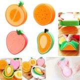 厂家直销 新品促销,萌萌的水果清洁海绵,洗碗海绵