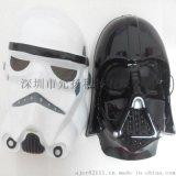 星球大战帝国面具黑武士白兵面具克隆兵