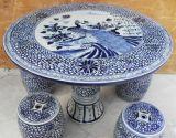 景德镇1m手工青花陶瓷瓷桌,陶瓷桌子,永不褪色的瓷器桌子