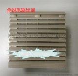 开孔尺寸122*122的塑料百叶窗ZL-803