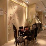 创光陶瓷地板 微晶石客厅 仿大理石水刀拼花