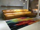 现代简约客厅真皮沙发
