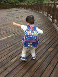 模特展示巨佳儿童书包定制定做幼儿园培训班男女小中大班书包