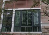 韶关东方门窗装饰  铝合金无焊接成手工窗花防盗防蚊铝艺窗花儿童防护窗隐形防盗网 花式多样