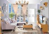 东莞鑫誉我居我潮北欧风格-小户型专用多功能隐形床-茶几-客厅家具
