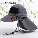 夏季成人男女户外帽 遮阳帽子披肩帽防紫外线太阳帽钓鱼帽UV50+